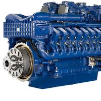 The MTU Series 4000 long-stroke Ironmen engine is available with 8, 12 and 16 cylinders and covers power outputs from 700-2,240kW (940-3,000bhp). It is used in workboats, tugs, inland waterway vessels, ferries, and governmental vessels. The engine is currently being developed for compliance with US emission-stage EPA Tier 3 regulations, with outputs from 560-2,000kW (750-2,680bhp). EPA Tier 3 requirements will be met without the need for exhaust aftertreatment.