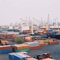 The Mumbai cargo terminal (Photo courtesy of the Mumbai Port Trust)