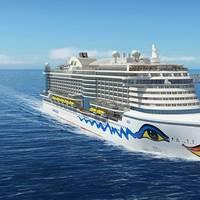 The new generation AIDA cruise ship