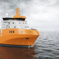 The new Wartsila PSV design features lower fuel consumption and notable improvements over existing designs