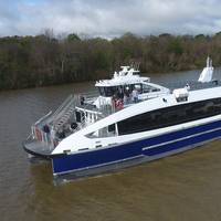 The newly delivered ferries are among 38 that will be delivered to NYC Ferry over the course of a three-year newbuild program. (Photo: Incat Crowther)