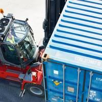 The order includes four Kalmar DCE330-RoRo forklifts Photo Kalmar