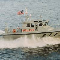 The pilot boat Brandywine underway (CREDIT: Gladding Hearn)