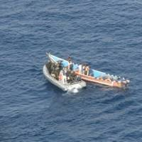 The Pirate Skiff Boarded: Photo credit EUNAVFOR