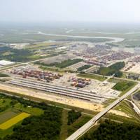 The Port of Savannah, Georgia, US: major expansion plans announced by the Georgia Ports Authority. (Photo: GPA)