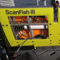The ScanFish ROTV solution with the top lids removed to show how the different sensors are fitted inside the platform