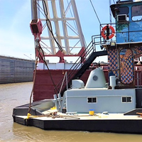 The shortened M/V River Cleanup after the modification work (Photo: TSGI)