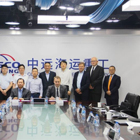 The signing ceremony was attended by senior management from both Wärtsilä and COSCO Shipping Heavy Industry. Copyright: CHI