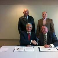 The signing of the ACP / Port of Lake Charles cooperation agreement(image: courtesy ACP)