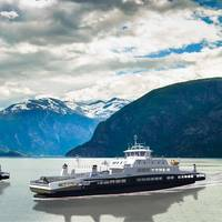 The two ferries on the Stranda-Liabygda route. Photo: HAV Design AS