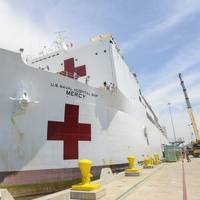 The USNS Mercy (Photo: Zach Kreitzer, U.S. Navy)