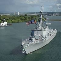 The USS Chung-Hoon is one of nine ships covered under the Hawaii multi-ship, multi-option (MSMO) contract issued by the Naval Sea Systems Command to BAE Systems (photo credit: U.S. Navy).