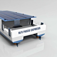 The winning team, under the guidance of Faculty Advisors Dr. Ivan CK Tam (Newcastle University) and Dr. Mohammed Abdul Hannan (Newcastle University) has designed MV Pasig Express, an aluminum hulled catamaran, with hybrid propulsion (CREDIT WFSA)