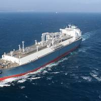The world's first newbuilding LNG floating storage regasification unit