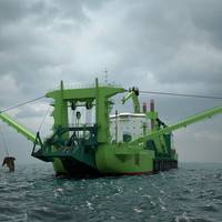 The world's most powerful cutter dredger and the first to be fuelled by LNG, will rely on Wärtsilä propulsion solutions. (Photo: Wärtsilä)