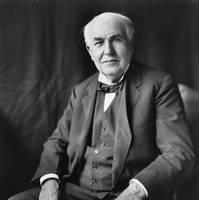 Thomas A. Edison, courtesy United States Library of Congress
