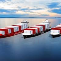 Three containerships on order for Eimskip Island and Royal Arctic Line will be equipped with hybrid scrubber systems and EGR water treatment systems from Langh Tech. (Image: Langh Tech)