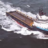 Tidewater, Inc.'s Dean Edward Taylor plows full steam ahead.
