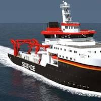 'Tiefsee Forschungs Schiff': Image credit Kongsberg Maritime