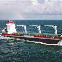 Multipurpose Dry Cargo Carrier Adriaticborg is one of the Wagenborg's 15 vessels under Wärtsilä maintenance