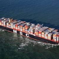 Top 5 Ships of 2015: Containership MSC Oscar (Photograph: Mediterranean Shipping Company S.A.)