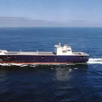TOTE Orca-class: Photo credit NASSCO