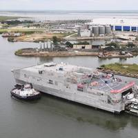 Trenton (JHSV 5). Photo courtesy of Austal USA