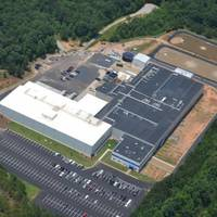 Trident Seafoods' new production and distribution center in Carrollton, Ga., includes an 88,000 square-foot manufacturing floor overlooked by 18,000 square feet of office space and another 20,000 square feet of support area. (Photo: Georgia Ports Authority)