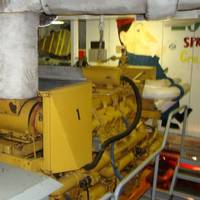 T/S State of Michigan engine room (Photo: MARAD)