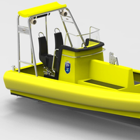Tuco Marine's new 7.5-meter ProZero fast rescue craft (Image courtesy of Tuco Marine Group)