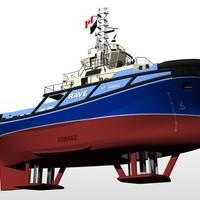 Tugboat RAVE Concept: Image credit Voith