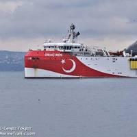 Turkey's Oruc Reis seismic vessel - Credit: Cengiz Tokgoz/MarineTraffic.com