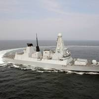 Type 45 Destroyer: Photo credit BAE