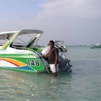 Typical Pattaya Speedboat: Photo credit Wiki CCL