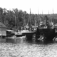 Ulstein Mek Verksted in 1927, ten years after having been established. (Photo: Ulstein)