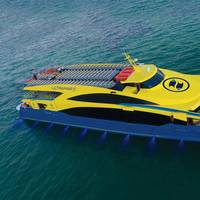 Ultramar Takes Delivery of High-End 48m Catamaran Ferry Photo Incat Crowther