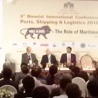 Union Minister of Shipping Nitin Gadkari delivering the keynote Address Pic BCCI