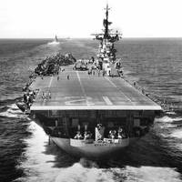 U.S. aircraft carrier USS Boxer (CVA-21). U.S. Navy photo