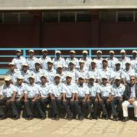 US Ambassador to Ethiopia, Patricia M Haslach, with the EMTI administration and cadets (Photo courtesy: EMTI)