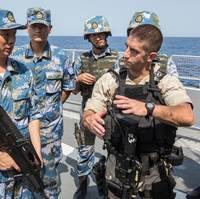 US & PLAN sailors: Photo credit USN
