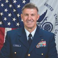 USCG Vice Adm. Schultz, the commander of the Coast Guard's Atlantic Area