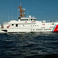 USCGC Bailey Barco during builders trials in the U.S. Gulf of Mexico (Photo: Bollinger Shipyards)