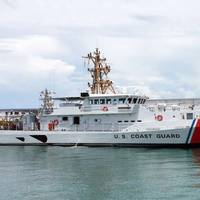 USCGC Robert Ward in Key West, Fla. (Photo: Bollinger Shipyards)