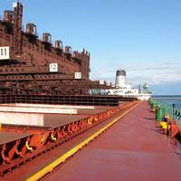 U.S.-flag laker loading iron ore at Two Harbors, Minnesota.  (Photo: LCA)