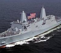 USN LPD 27 Class Ship: Photo credit HII