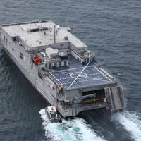 USNS Newport - Credit: Austal