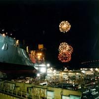 USNS Soderman (T-AKR-317) launching ceremony (Photo: NASSCO)