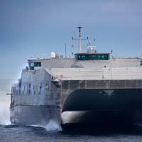 USNS Spearhead: Photo credit USN
