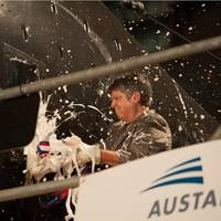 USNS Yuma Christened Photo Austal
