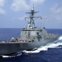 USS Chafee: Photo credit USN